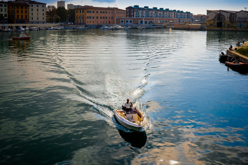 Småbåthavna i Livorno