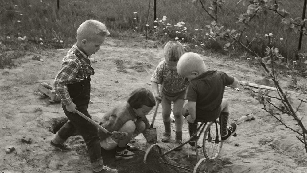 CreaVita på et tidlig stadium!Fra Maura i Nannestad tidlig på 60-tallet. Foto: Bjarne Eidsmo.