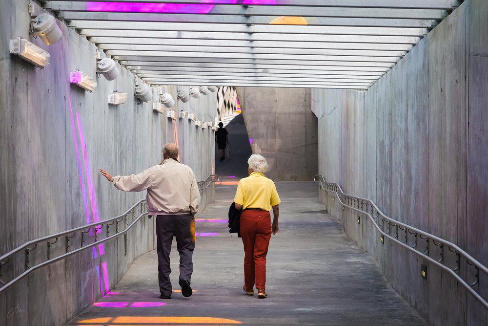 Følelsen av noe nytt – Sinsen T-banestasjon