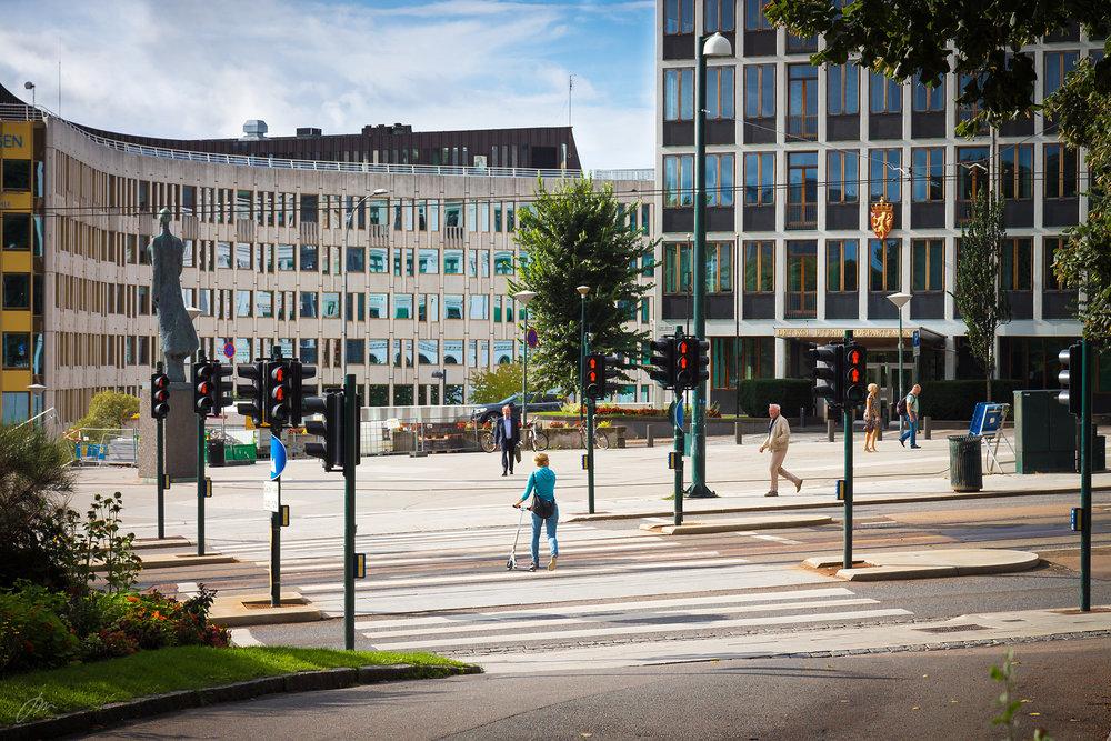 Kunsten å krysse Henrik Ibsens gate på rødt