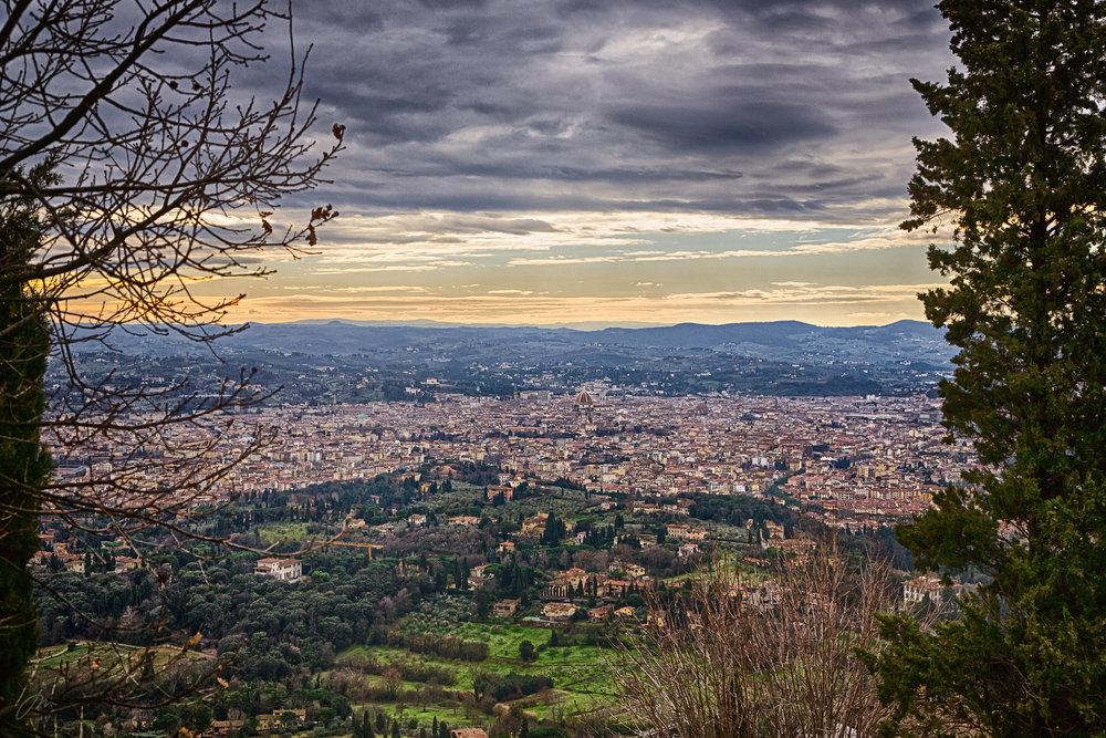 Utsikten fra Fiesole