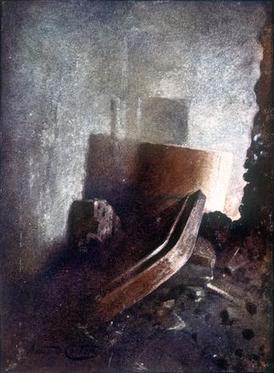 Slik så det ut i Hatshepsuts gravkammer da Howard Carter fant det.