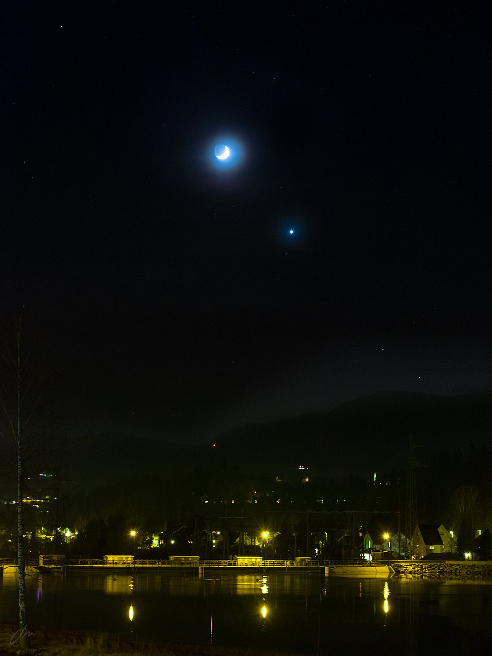 Månen og Venus –uke 1
