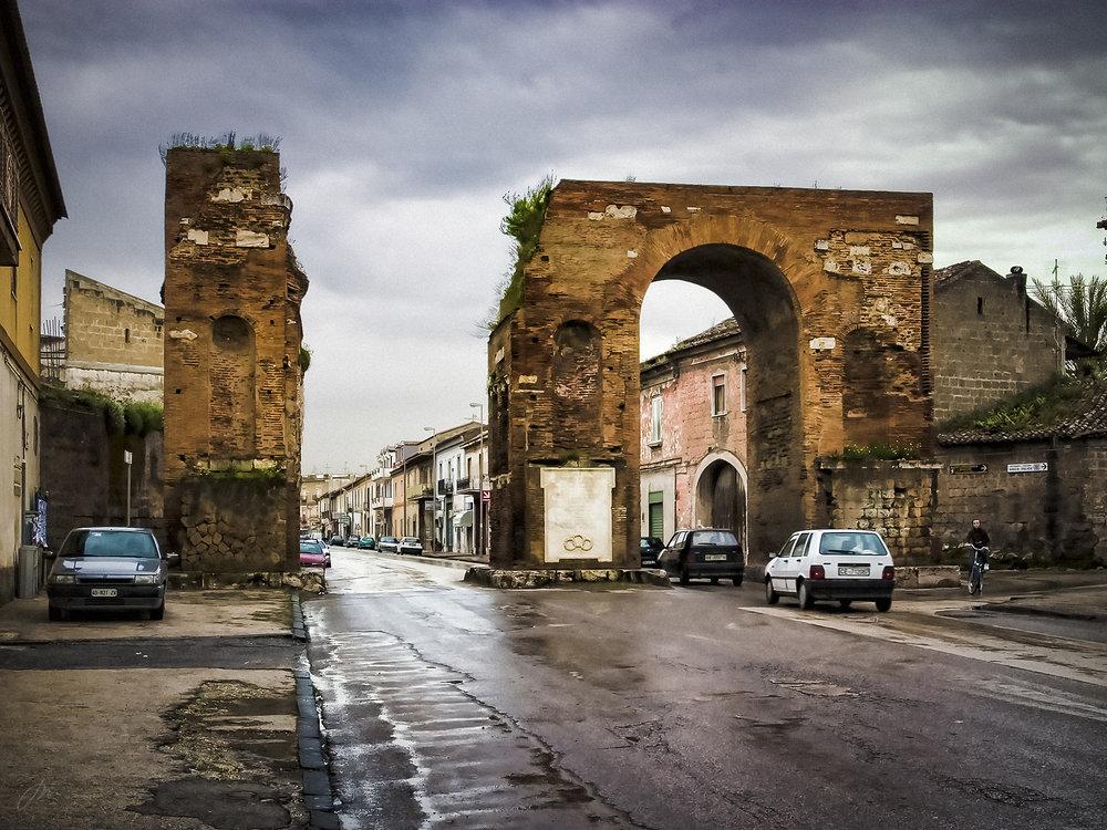 Hadrians bue i Capua.
