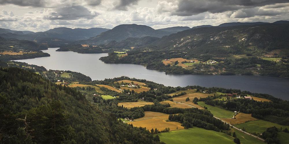Heddalsvannet, Telemark