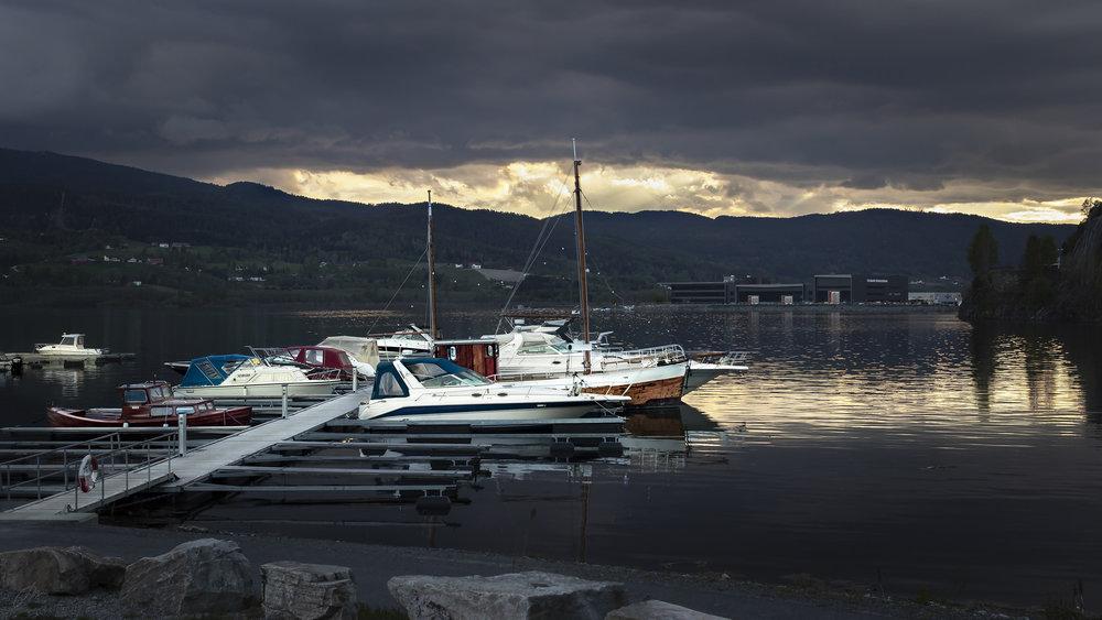 En båt som lengter mot sjøen