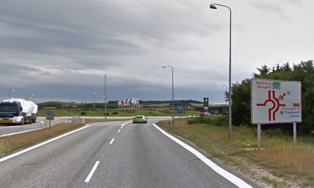 Hele Danmark venter – og godt og vel halve Tyskland (Bilde: Google StreetView)