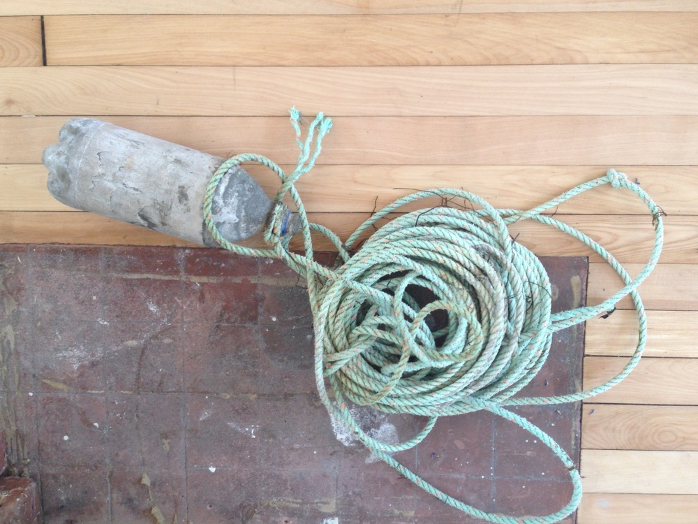 Moratorium, The Weight II. Rope and concrete