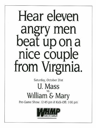 Yes, radio stations run newspaper ads, too.