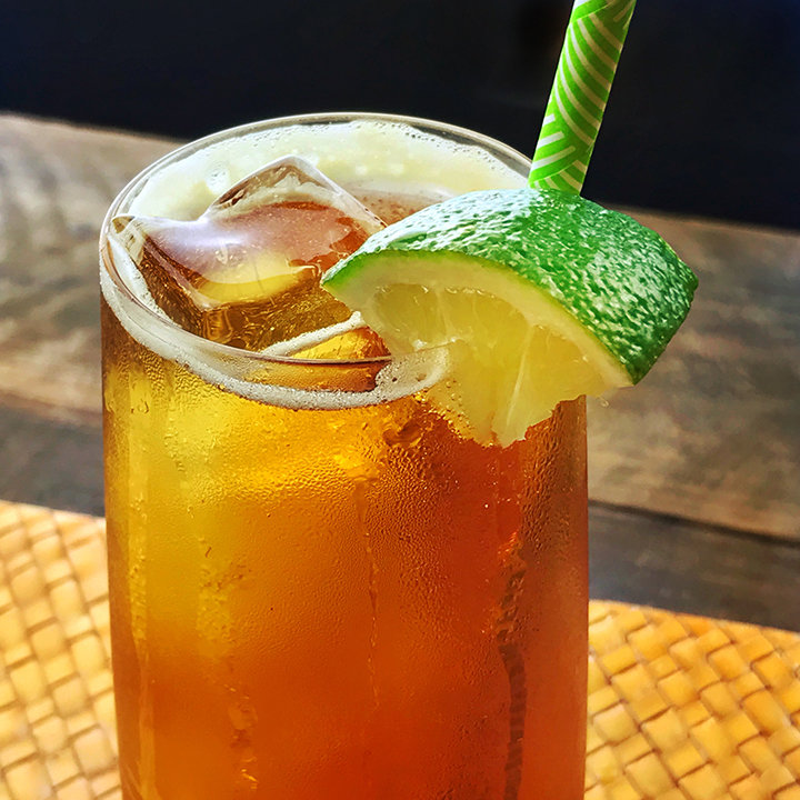 Spiced Rum Gold 'n' Stormy - 2 oz. CopperMuse Spiced Rum1/2 oz. Lime JuiceTop with your favorite Ginger BeerGarnish with a Lime wedge*For a truly divine mule, pour limeade into an ice cube tray & freeze. Add a couple limeade ice cubes in place of regular ice