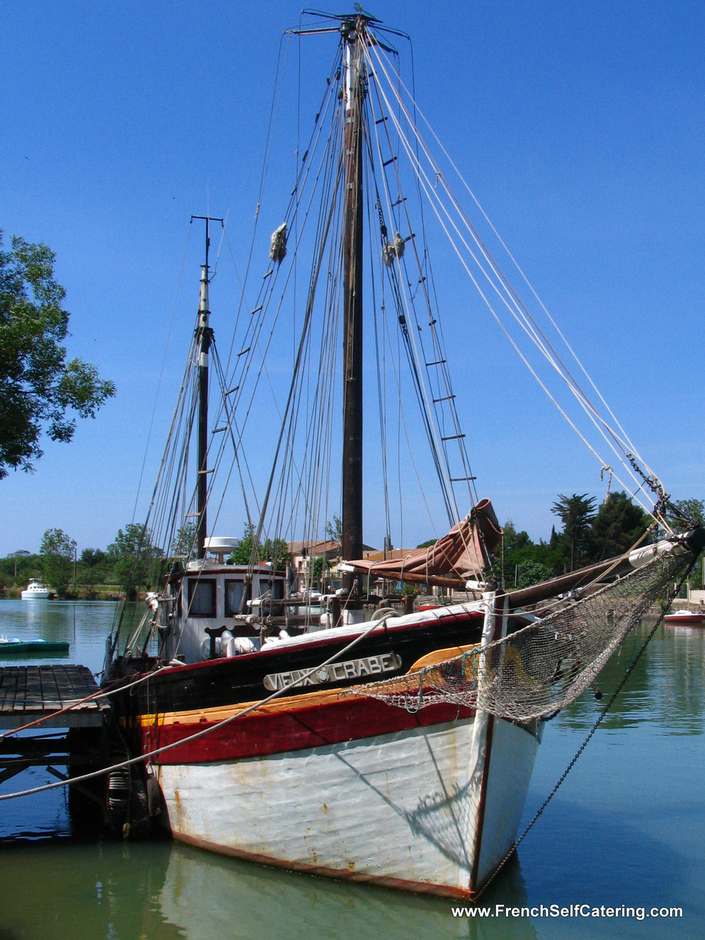 a Boat in Agde
