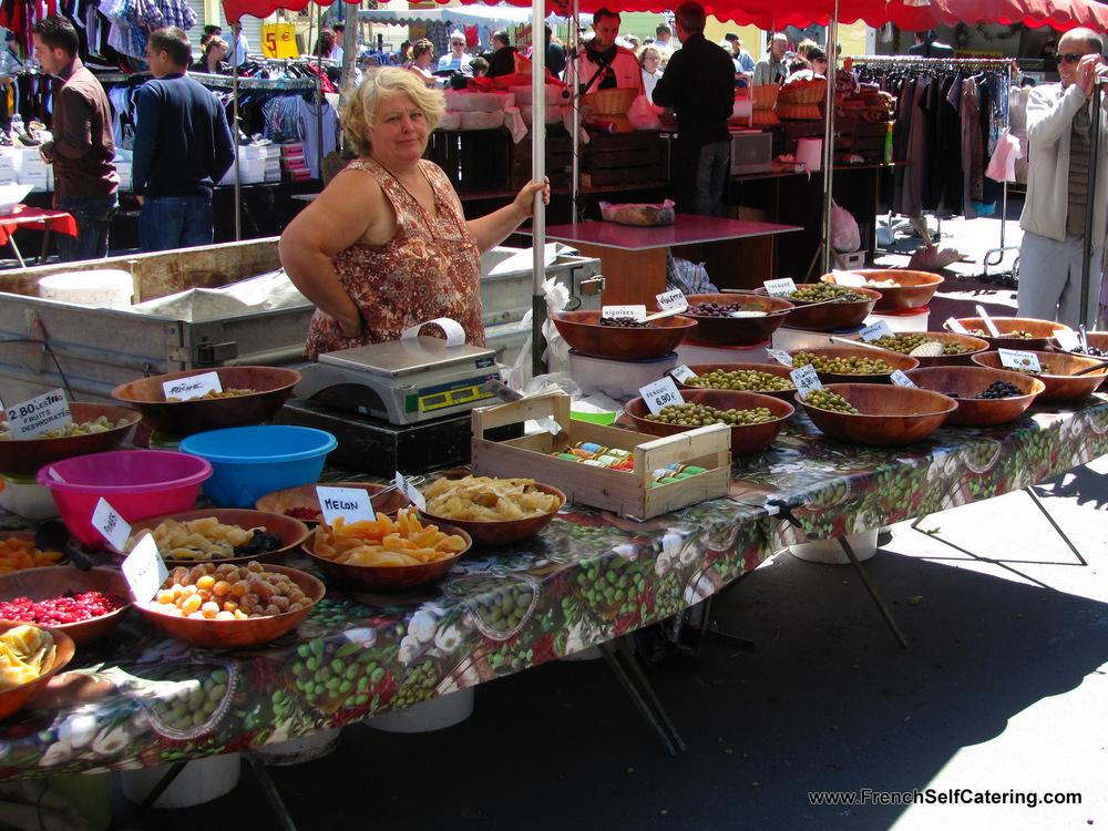 Market in Argeles-sur-Mer