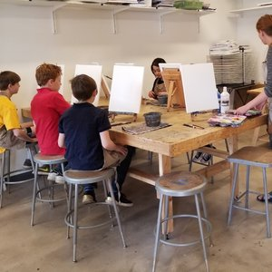 school day off holiday camps tinker art studio classes