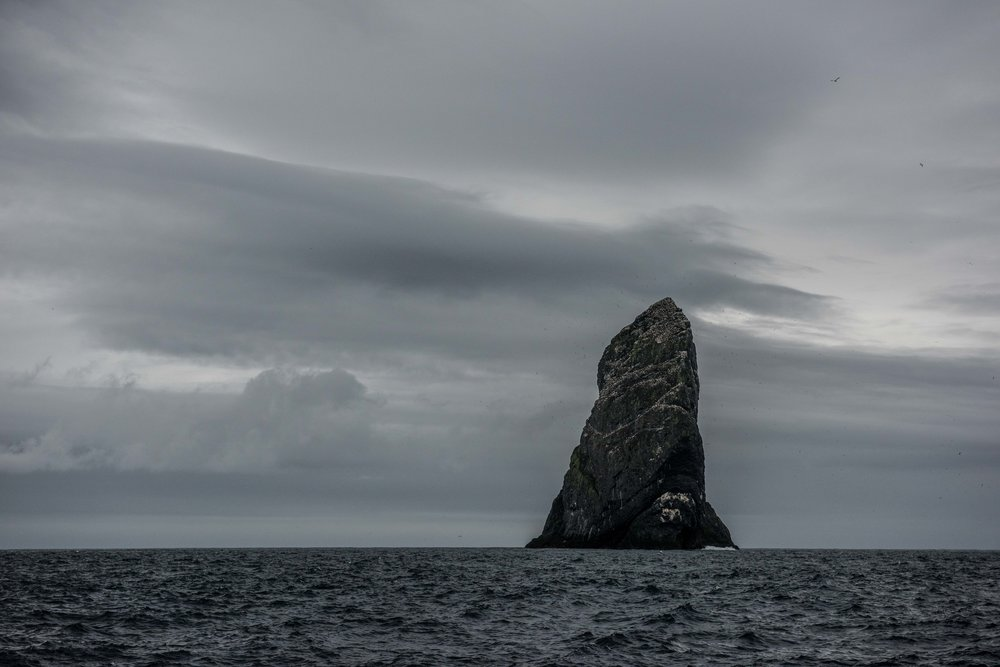 St Kilda stacs, Outer Hebrides, Scotland