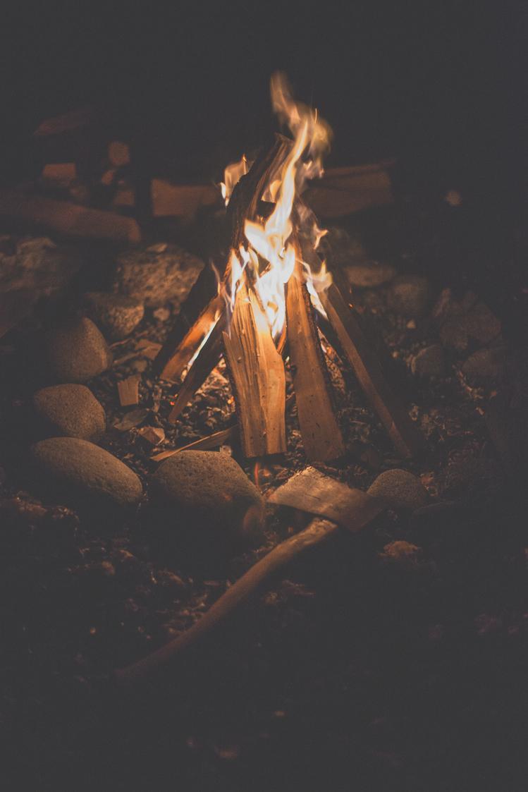 man-and-camera: Qualicum Beach Bonfires ➾ Luke Gram