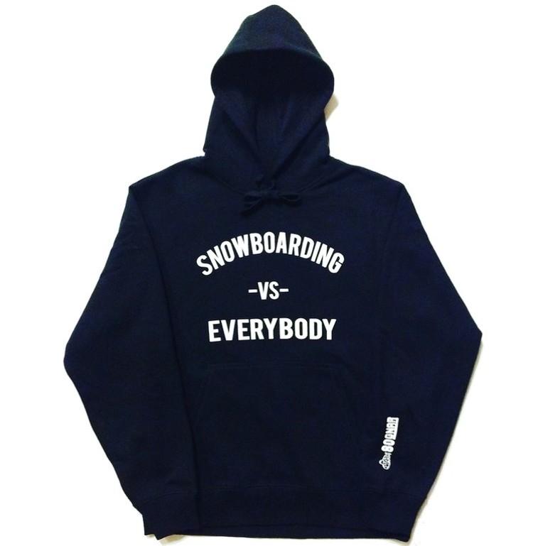 ebe1a6802200 Snowboarding -Vs- Everybody Hoodie