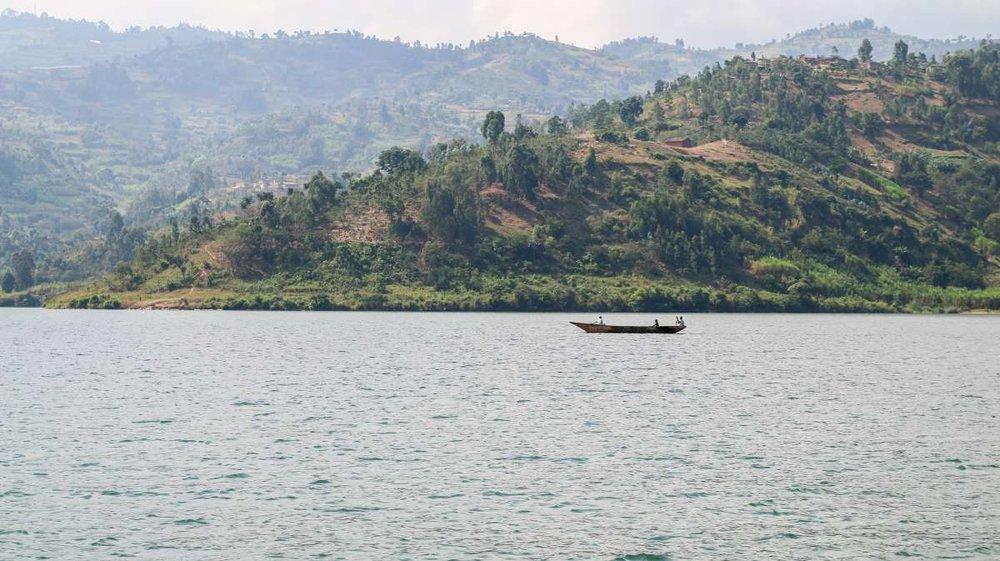 Greetings from Lake Kivu -