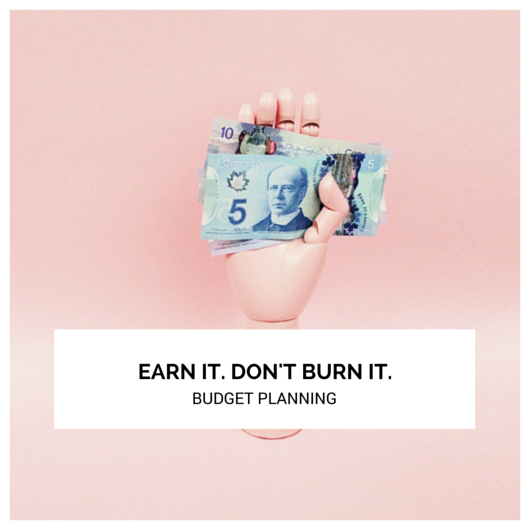 In Person Session: Earn it. Don't Burn it. Budget Planning Course.