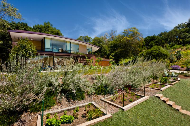 Merit Award, So. Cal Chapter of the American Society of Landscape Architects:   Coyote House  Landscape Architect:  Van Atta Associates