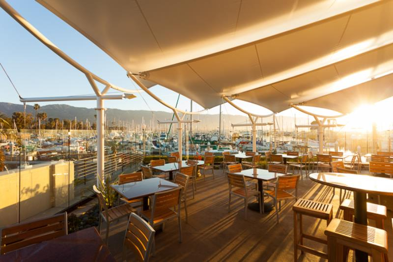 Santa Barbara Beautiful Award - Architectural Feature:   Chucks Waterfront Grill  Architect:  David VanHoy