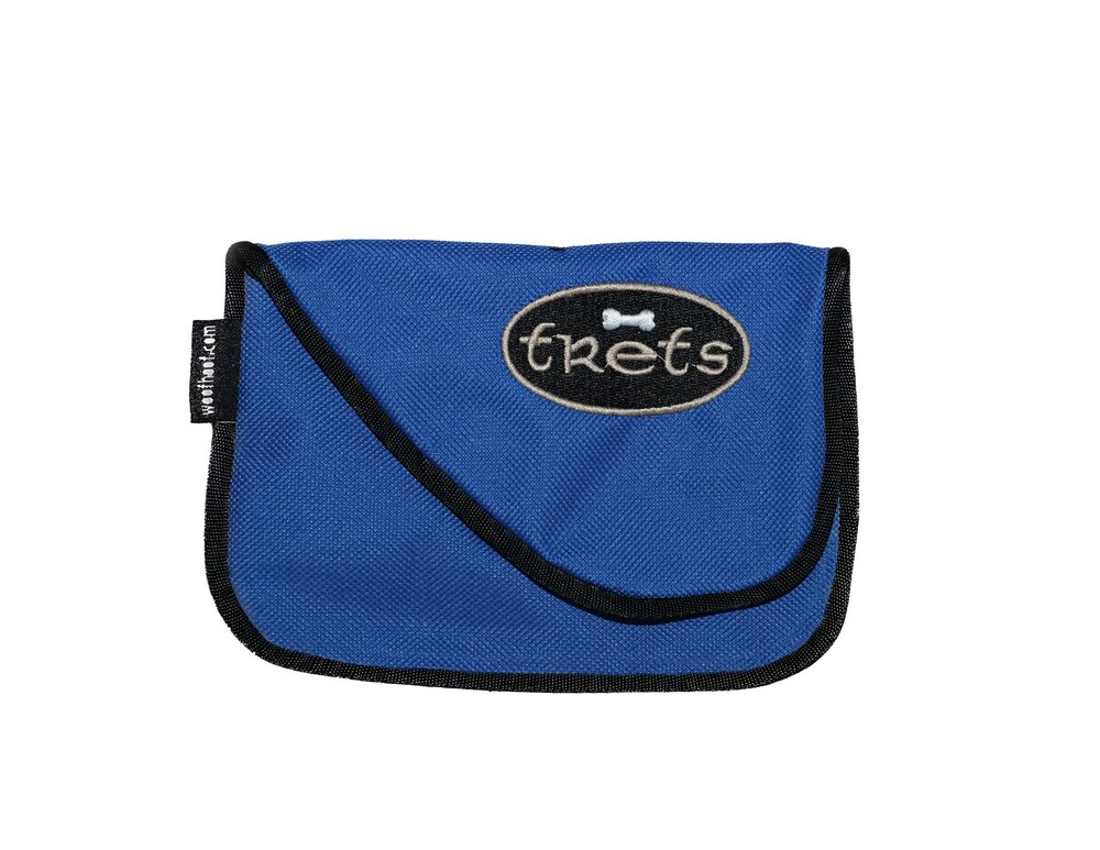 BLUE TREAT POUCH -