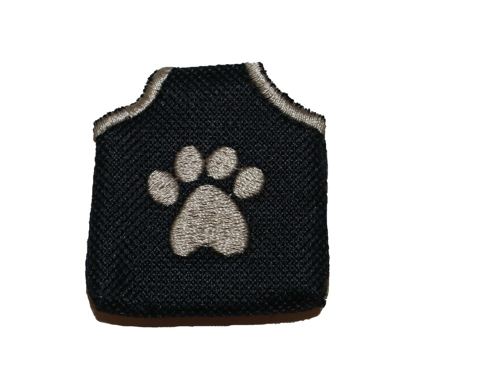 BLACK PAW PEACE TAG -