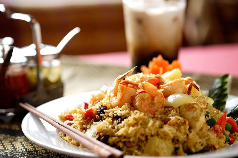 Fried Rice w/ Shrimp