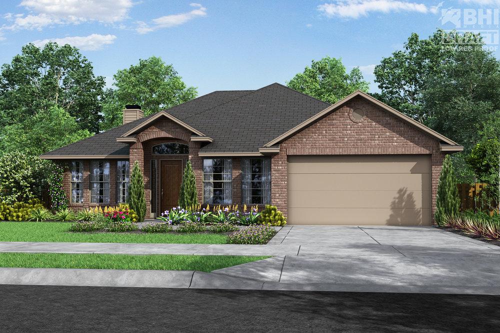 84 BRIARWOOD LN, BELLVILLE, TX 77418  3 BEDROOM, 2 BATH, STUDY, OPEN CONCEPT, 2 CAR GARAGE