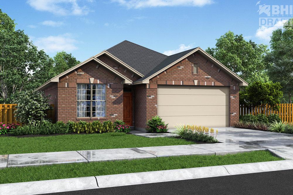 42 BRIARWOOD LN, BELLVILLE, TX 77418  3 BEDROOM, 2 BATH, STUDY/DINING OPTION, OPEN CONCEPT, 2 CAR GARAGE