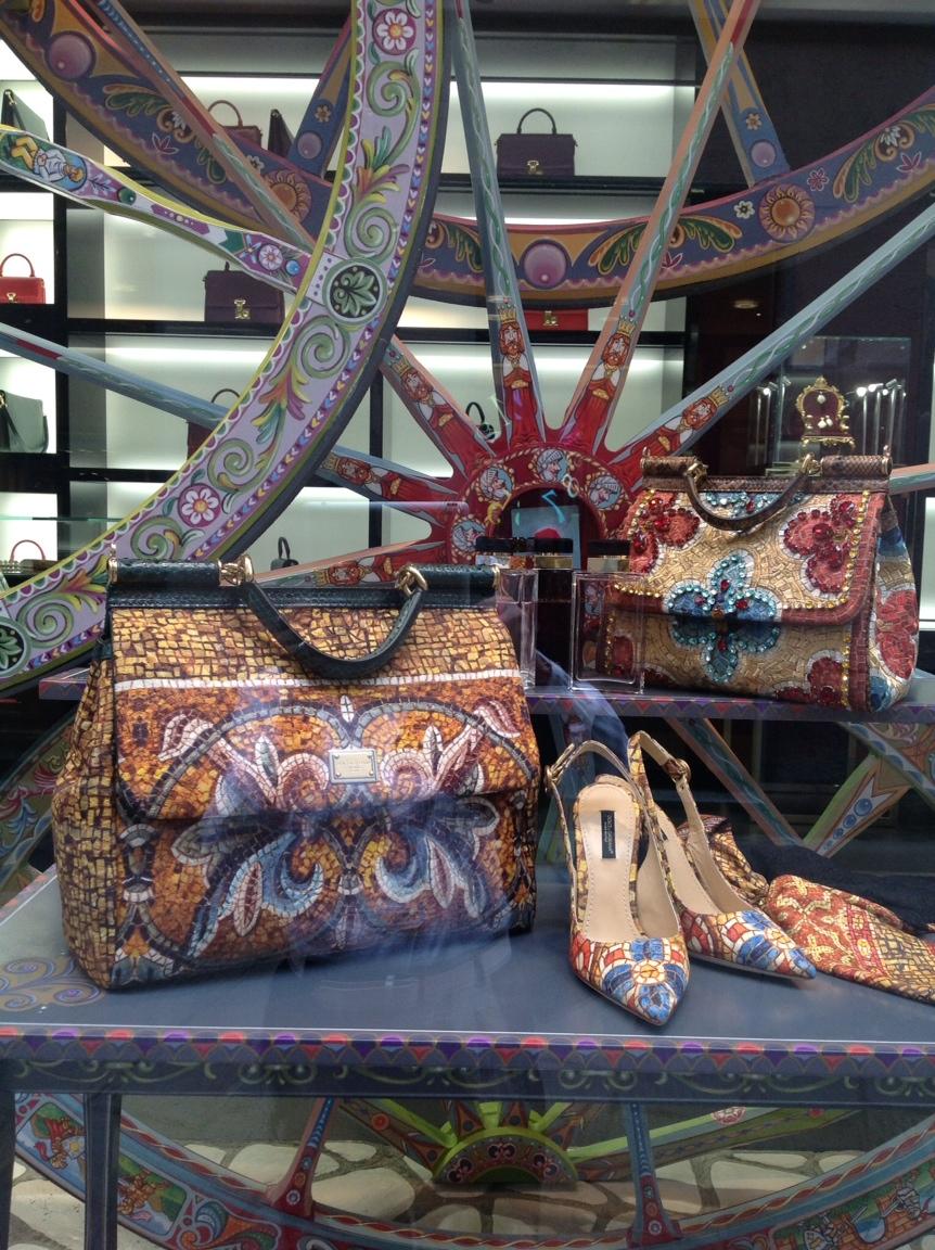 Dolce & Gabbana - Window in Via de la Spiga