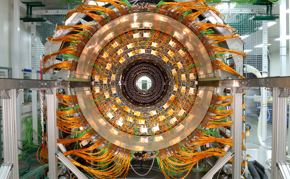 Large Hadron Collider. Super heady.