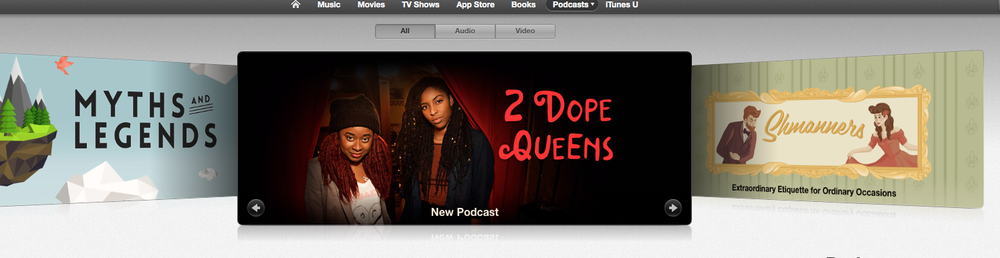 I did all the music for WNYC's newest podcast 2 Dope Queens. Brilliant and hilarious stuff from Jessica Williams (The Daily Show) and Phoebe Robinson (Broad City). Listen, subscribe, review!