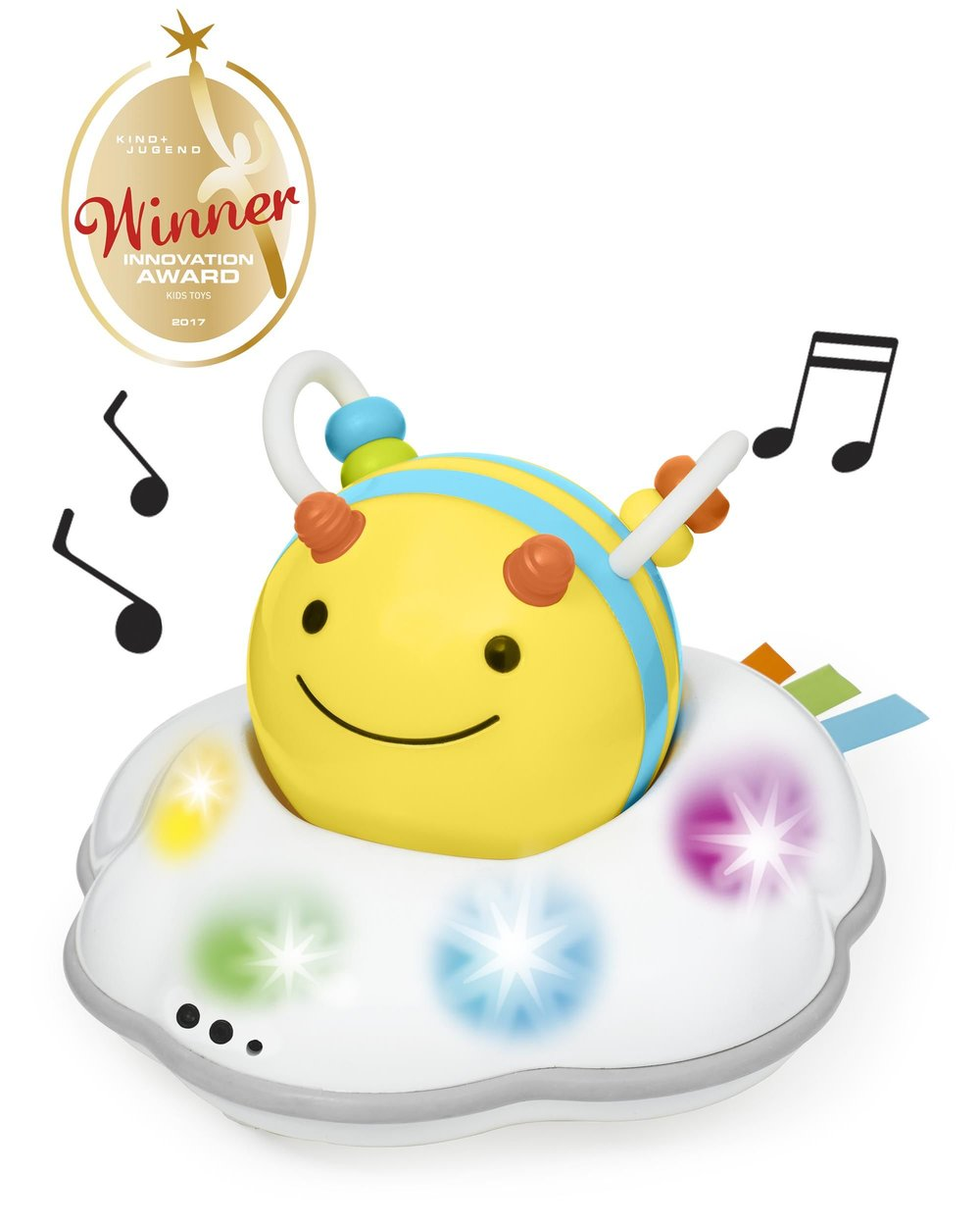 I developed all the sound and music in this adorable and award winning SKIP HOP toy.