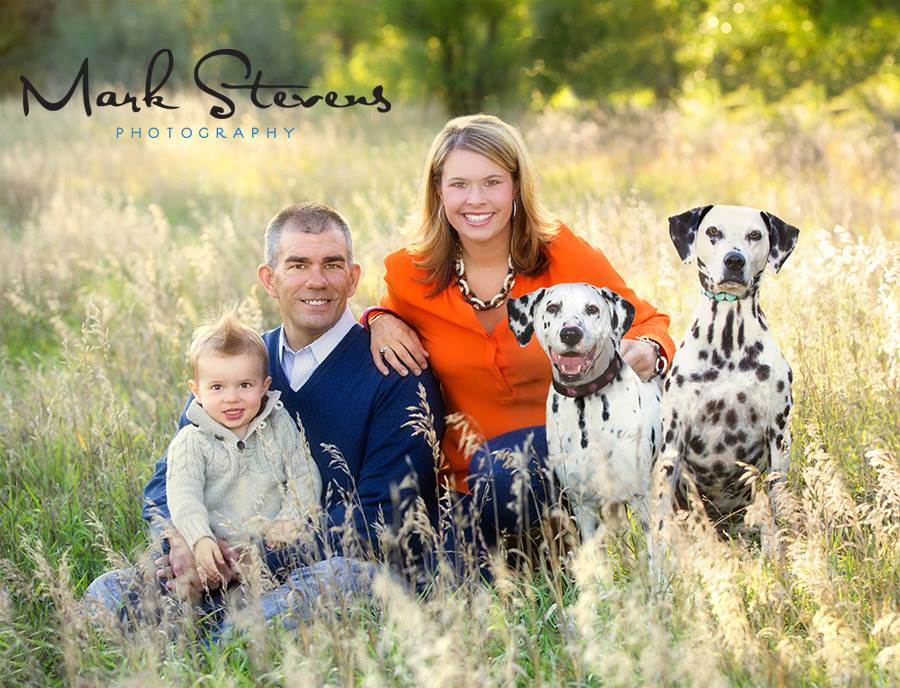 Outdoor family portraits in Denver this fall