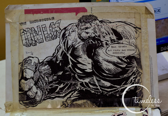 Hulk! SMASH! Awesome drawing!