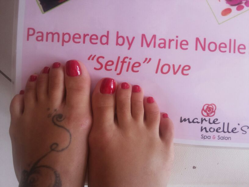 Feet Selfie!