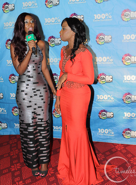 NAA ASHORKOR (red gown)