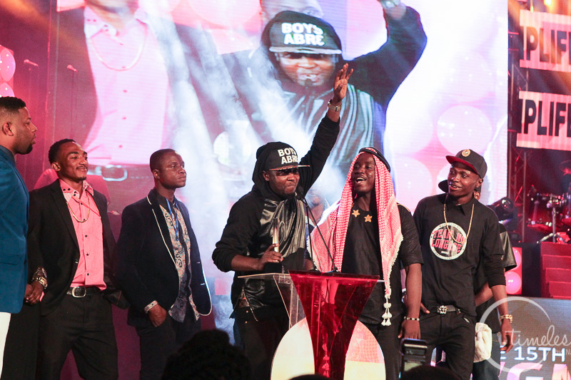 Guru takes up the Hiplife Song of the Year award