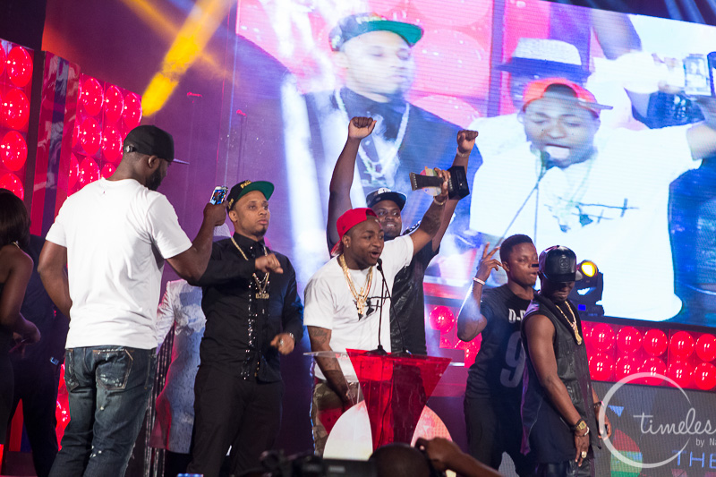 Davido won the African Artiste of the Year.