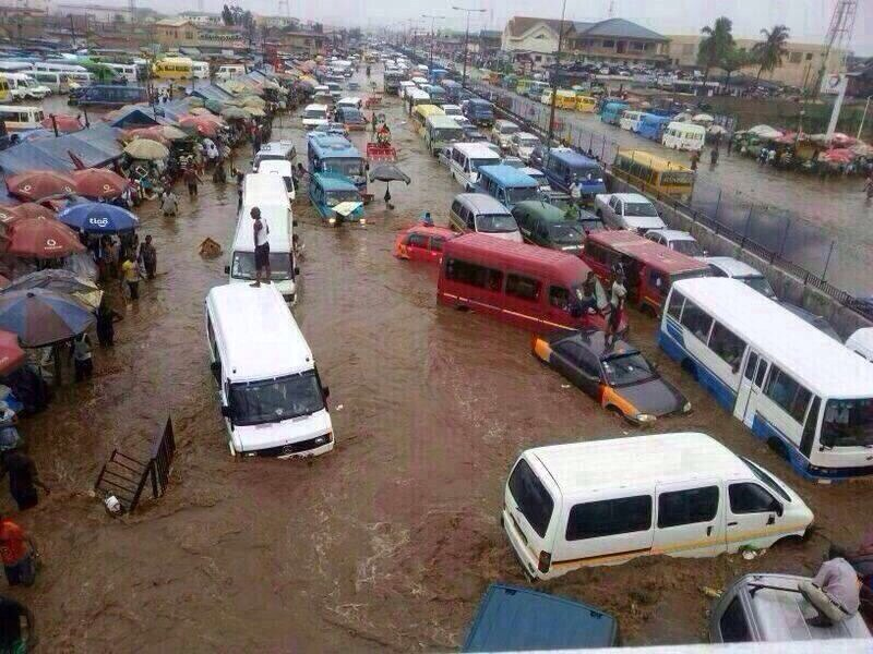 Flood chaos at Kaneshie Market