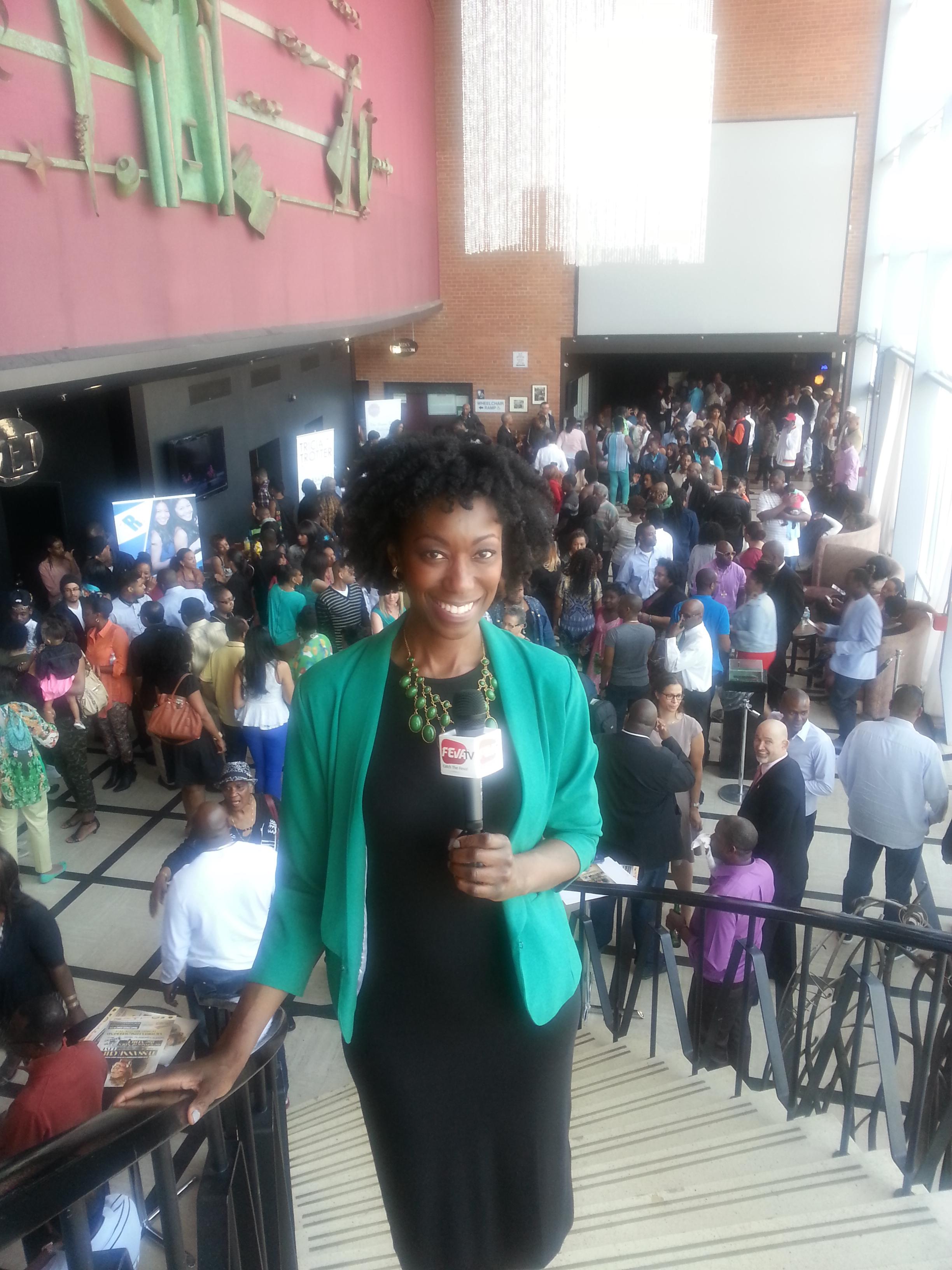 Ivy Prosper , TV Host on FevaTV