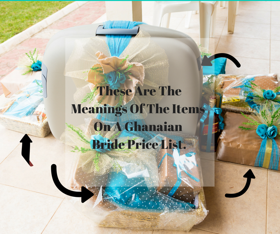 The Significance Of Items On The Ghanaian Bride Price List
