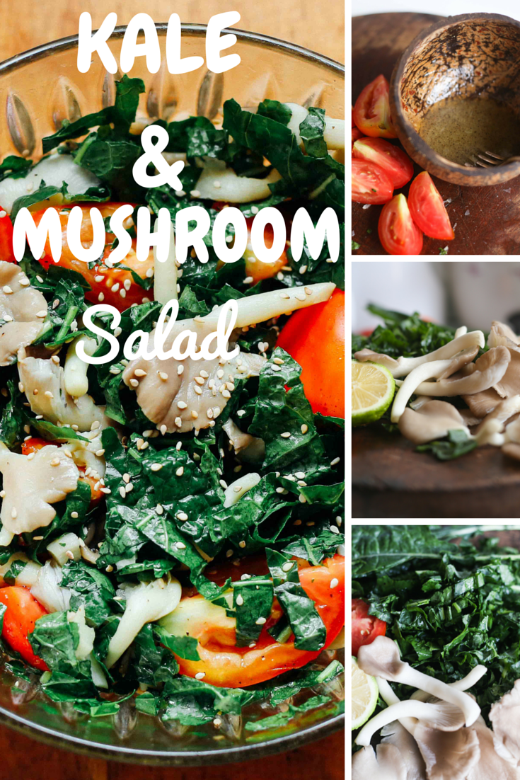 kale&mushroomsalad