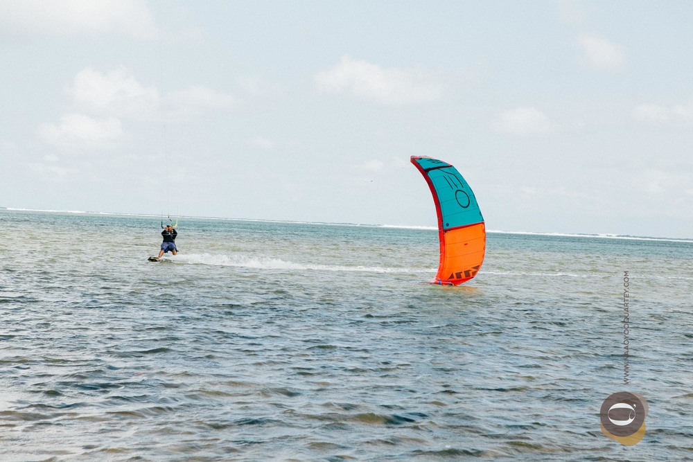 Kite Surfing in Mauritius