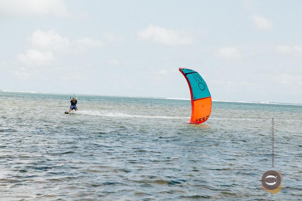 Kite Surfing in Mauritius