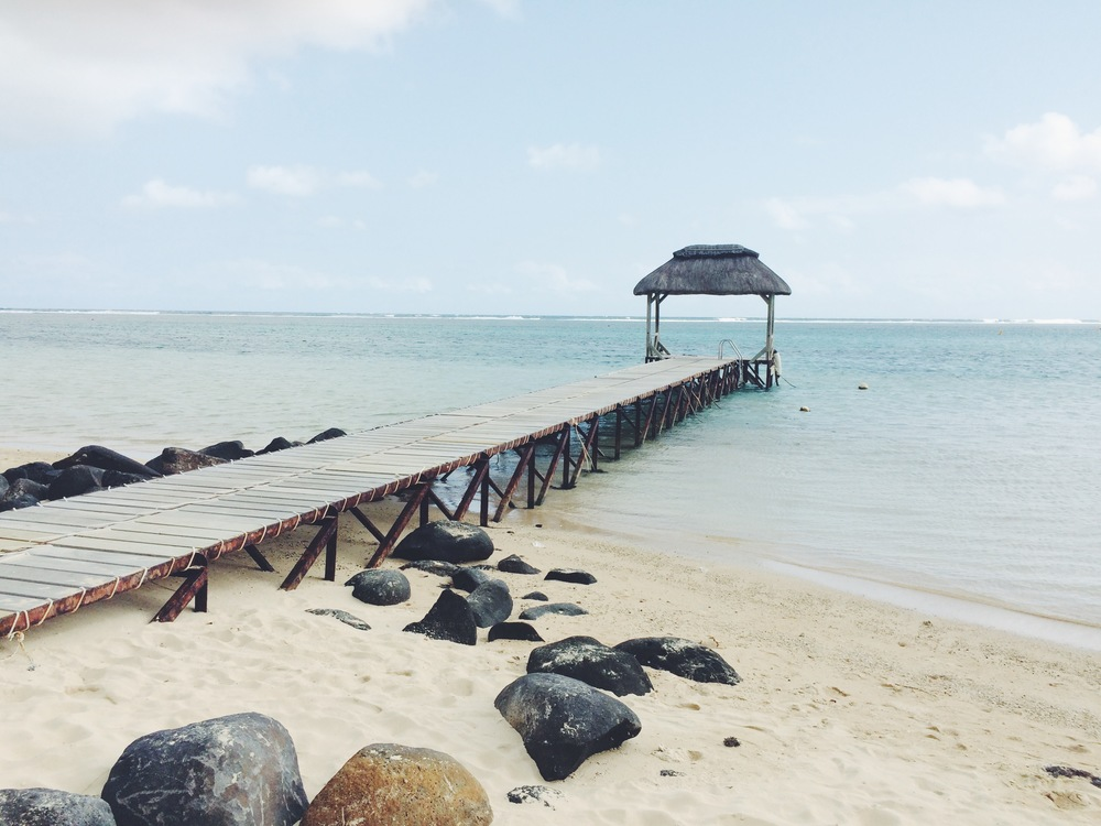 The pier at Outrigger Resort
