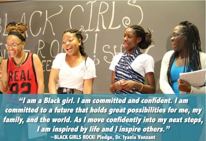 BlackGirlsRock Pledge