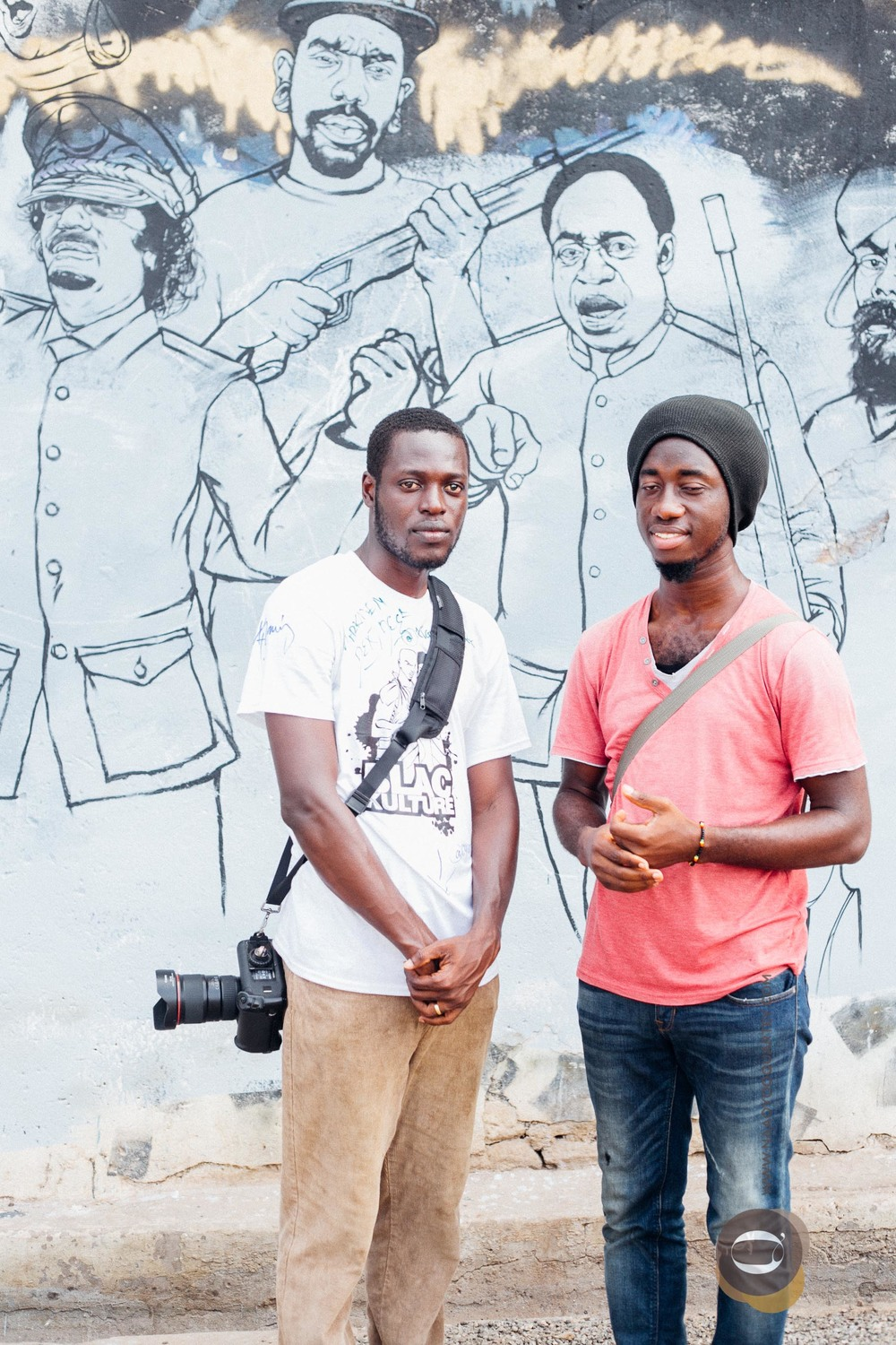 Nii Odzenma & Bright Ackwerh at ChaleWote2015