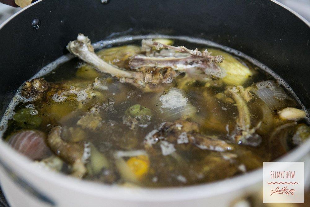 guinea fowl soup