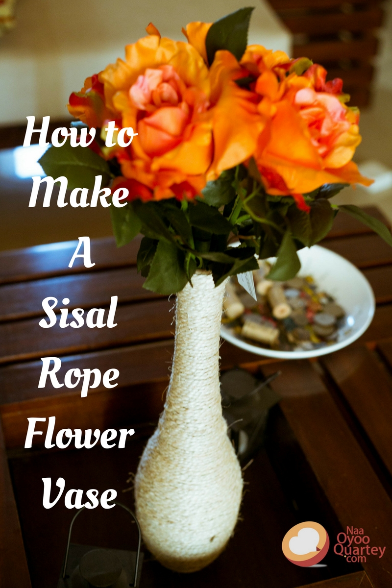 How to make a sisal rope flower vase for your living room naa how to make a sisal rope flower vase for your living room reviewsmspy